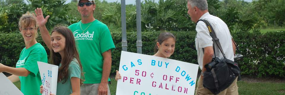 Coastal discounts fuel by 50 cents per gallon